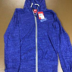 Women's Nike vintage gym hoodie sz XL